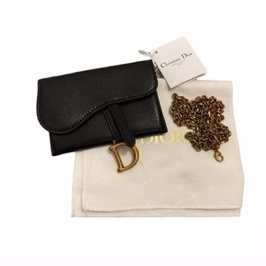 Christian Dior Oblique Nano Chain Belt Bag